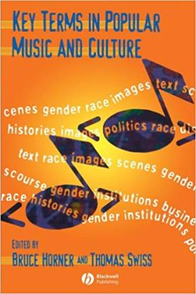 Book cover, Key Terms in Popular Music and Culture